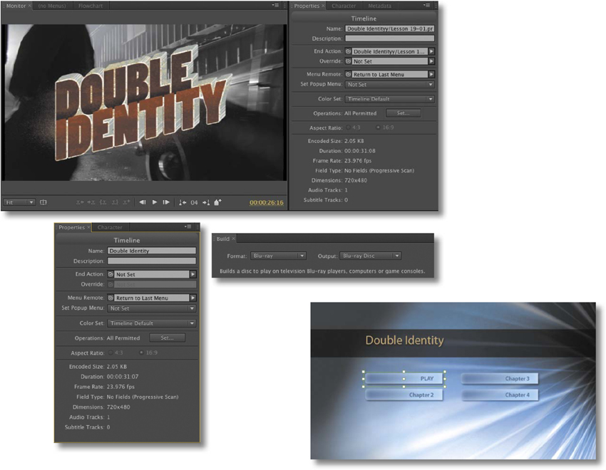 19  Authoring DVDs with Adobe Encore - Adobe® Premiere Pro® CS6