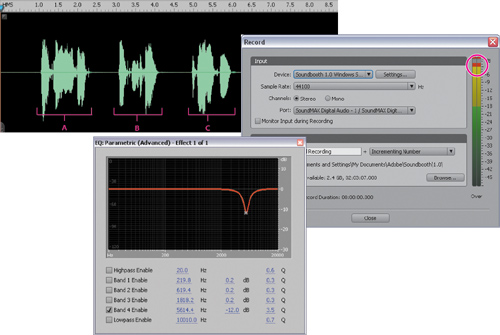 Editing and Enhancing Voiceover Recordings