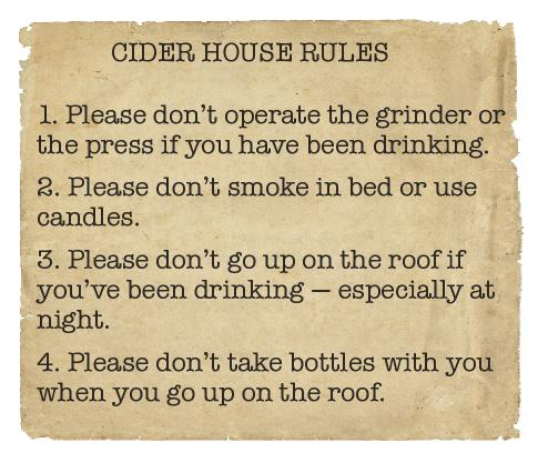 36 Cider House Rules