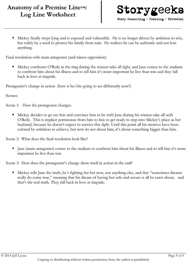 Appendix B: Examples - Anatomy of a Premise Line [Book]