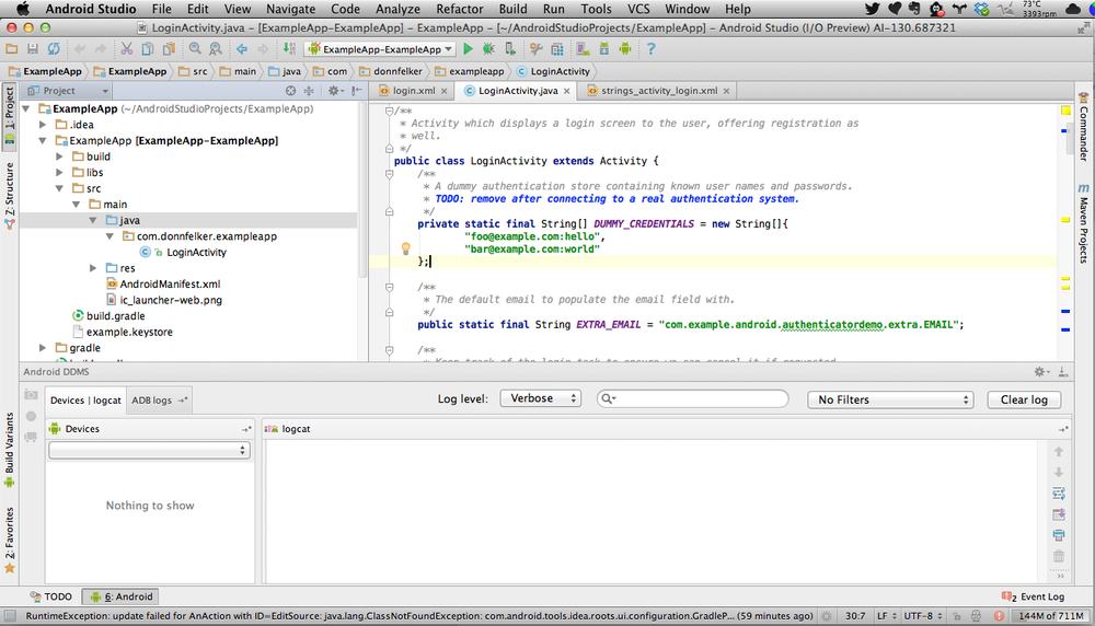 6  Developing with Android Studio - Android Developer Tools