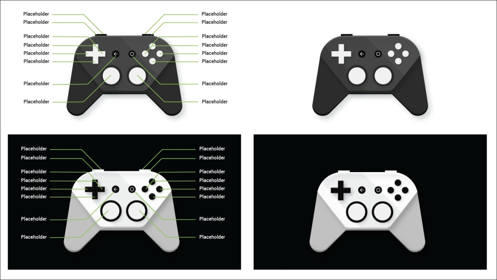 Showing controller instructions