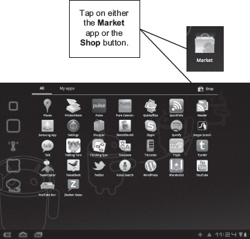 Installing Apps from Your Tablet - Android Tablets Made Simple [Book]