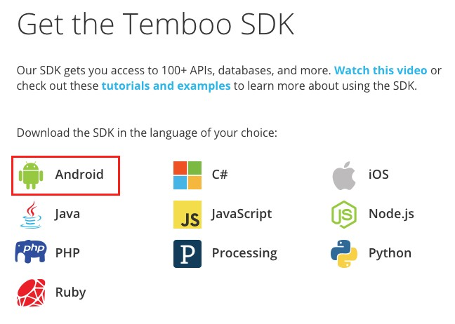 Integrate Temboo in the Android Things app - Android Things