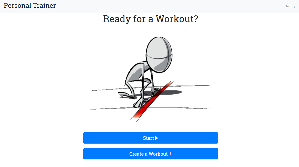 Getting started with Personal Trainer navigation - Angular 6