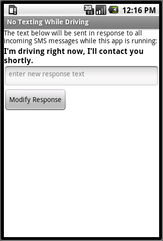 No Text While Driving App >> 4 No Texting While Driving App Inventor Book