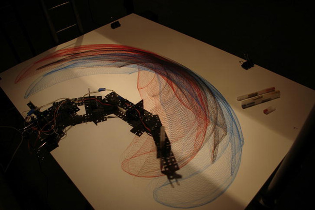 Chapter kinect driven drawing robot arduino and