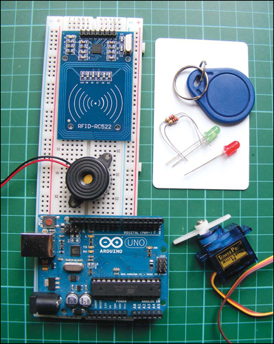 Project 23: Wireless ID Card Entry System - Arduino Project