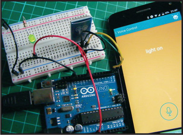 Project 24: Voice-Controlled LED - Arduino Project Handbook