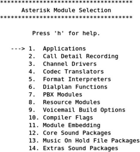 3  Installing Asterisk - Asterisk: The Future of Telephony