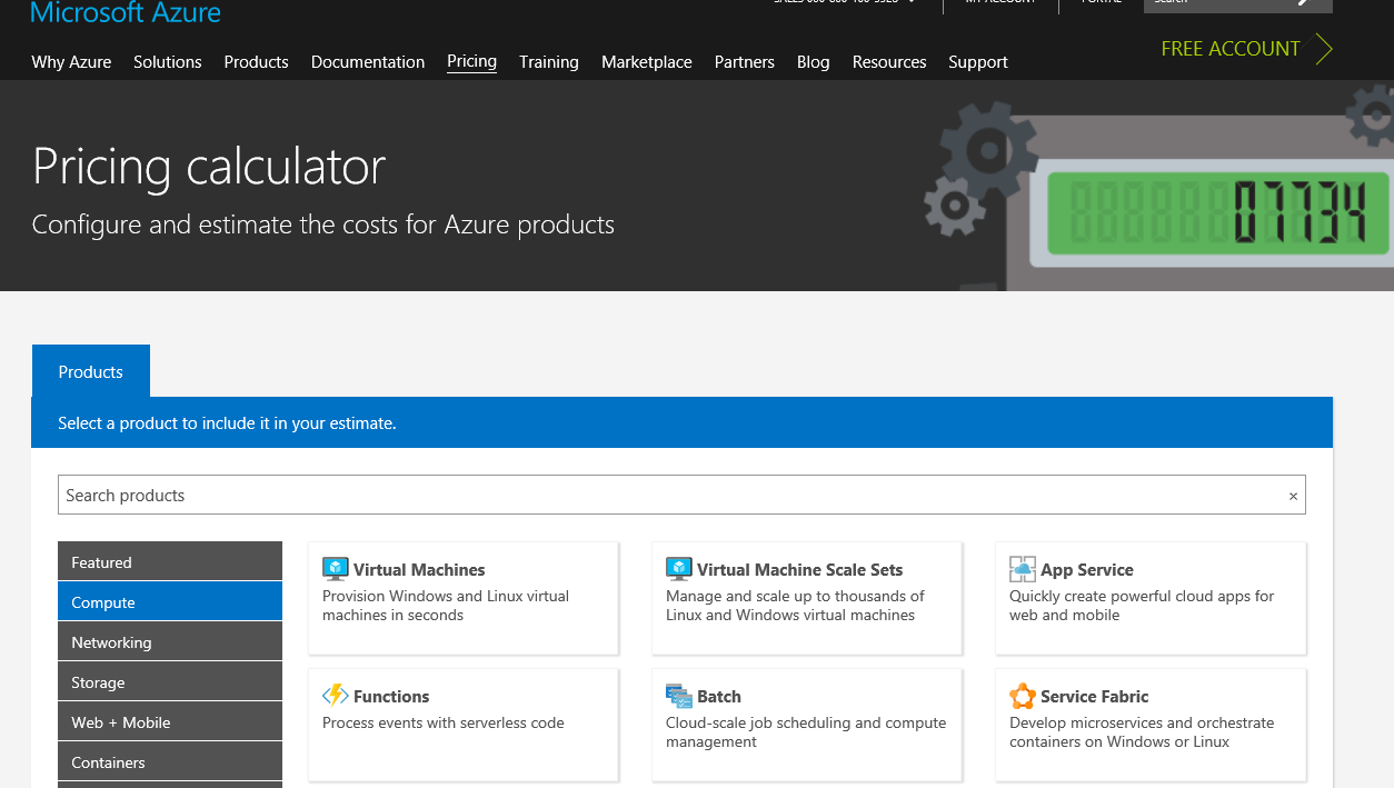 azure pricing calculator azure for architects book
