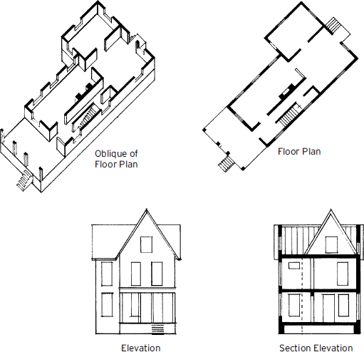 Elevation Plan Drawing : Elevation plan view drawing