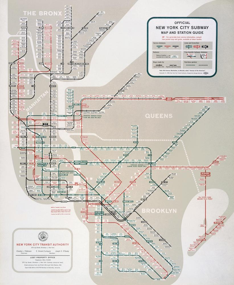 Subway Map Creator New York.5 Mapping Information Redesigning The New York City Subway Map