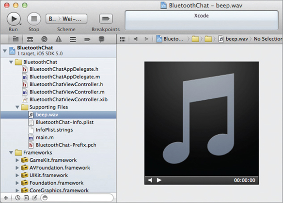 IMPLEMENTING VOICE CHATTING - Beginning iOS 5 Application