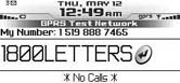 Dialing letters in phone numbers