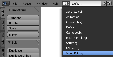 Time for action – preparing a scene in Video Sequence Editor