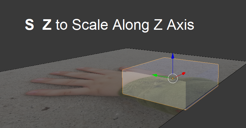 Modeling a low-poly hand from a cube - Blender 3D Printing by