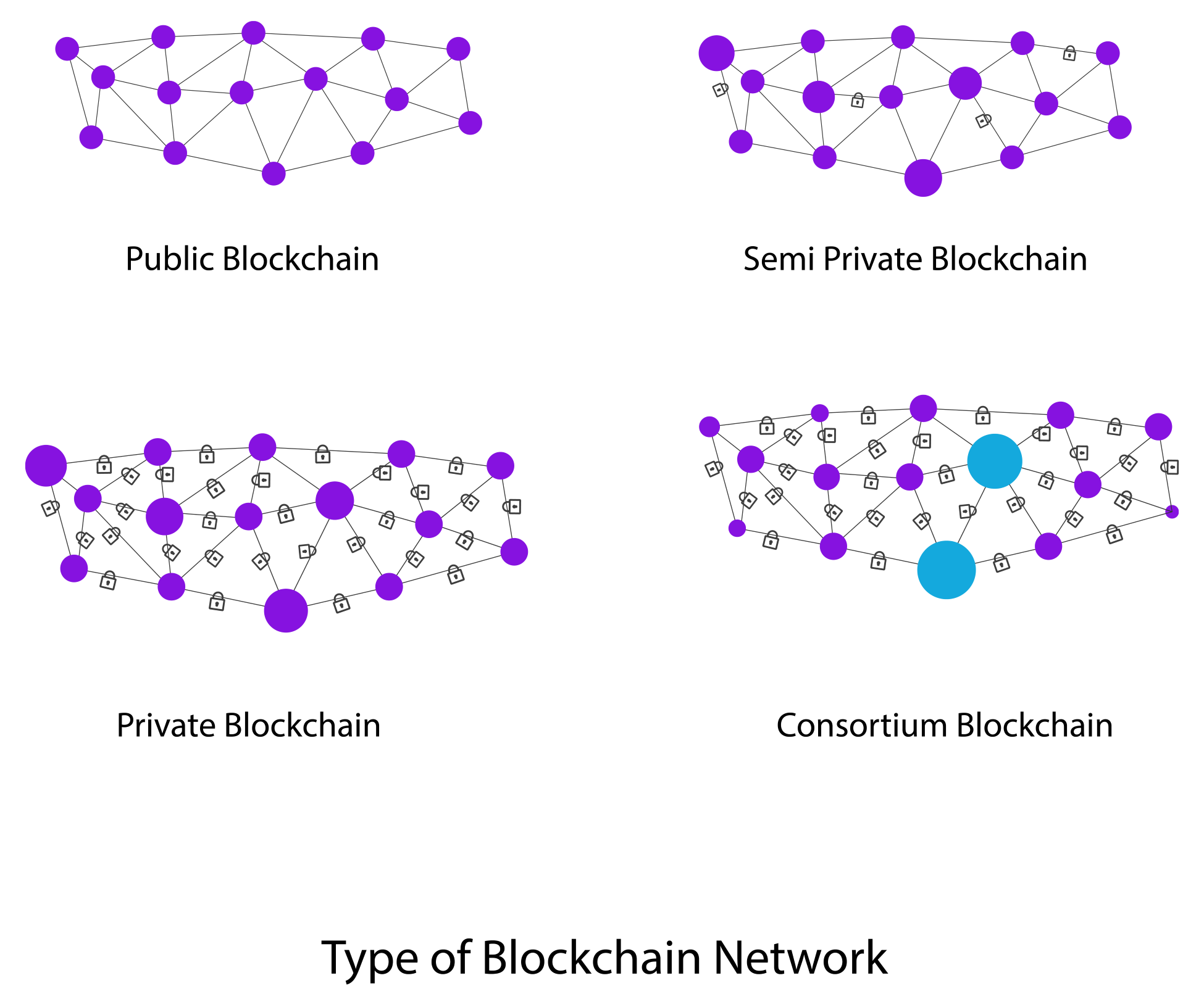 Types of blockchains - Blockchain Quick Reference [Book]