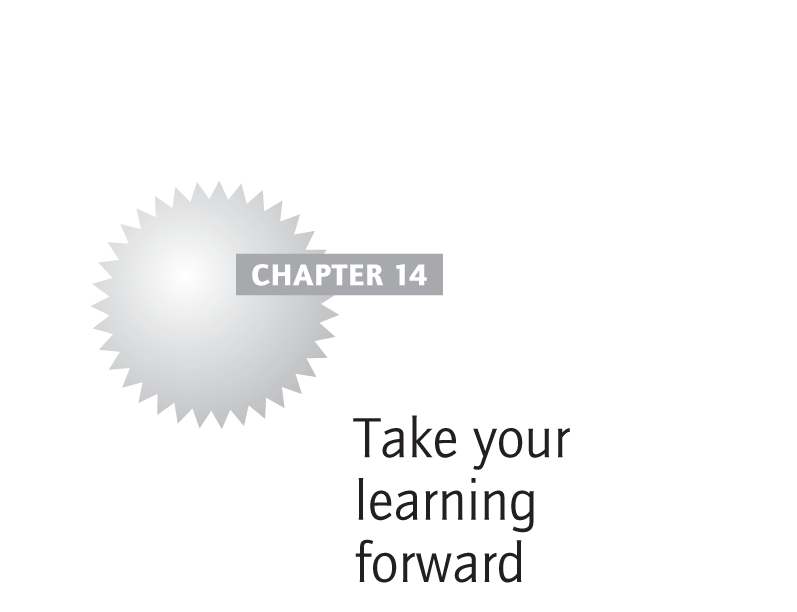 Take your learning forward