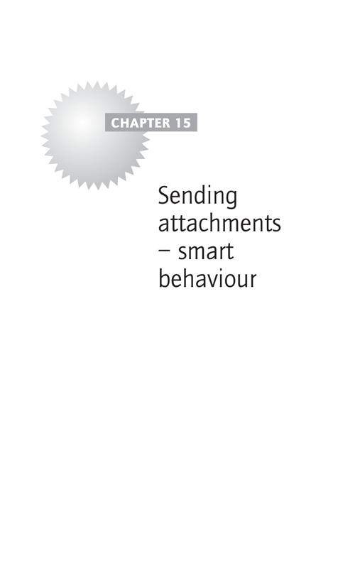 Sending attachments – smart behaviour