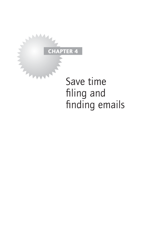 Save time filing and finding emails