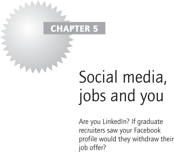 Social media, jobs and you