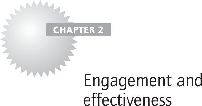 Engagement and effectiveness