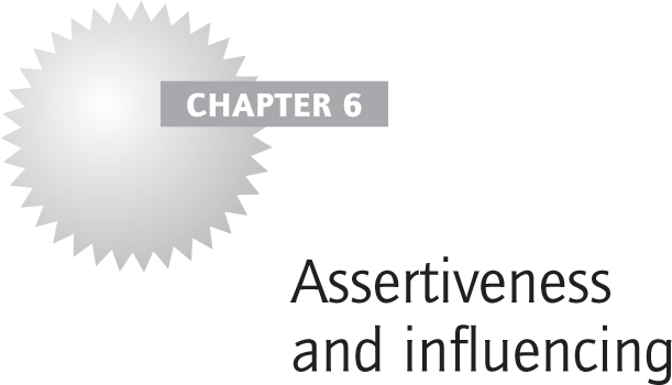 Assertiveness and influencing