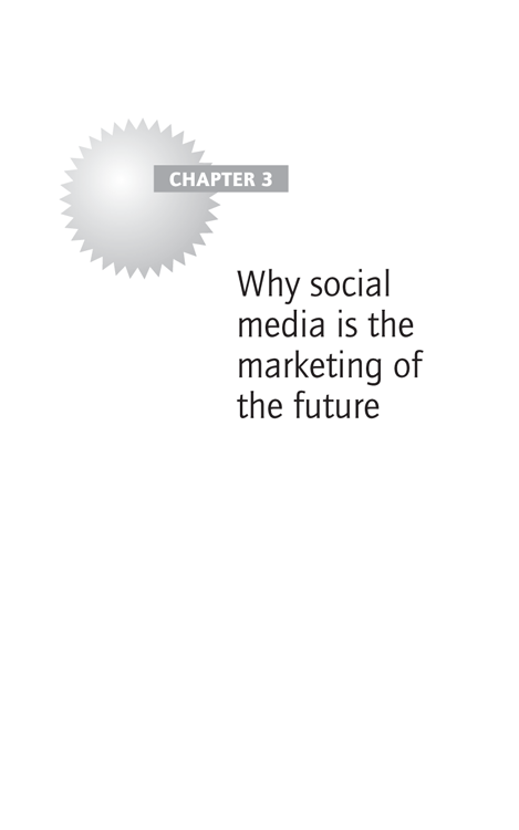 Chapter 3 Why social media is the marketing of the future