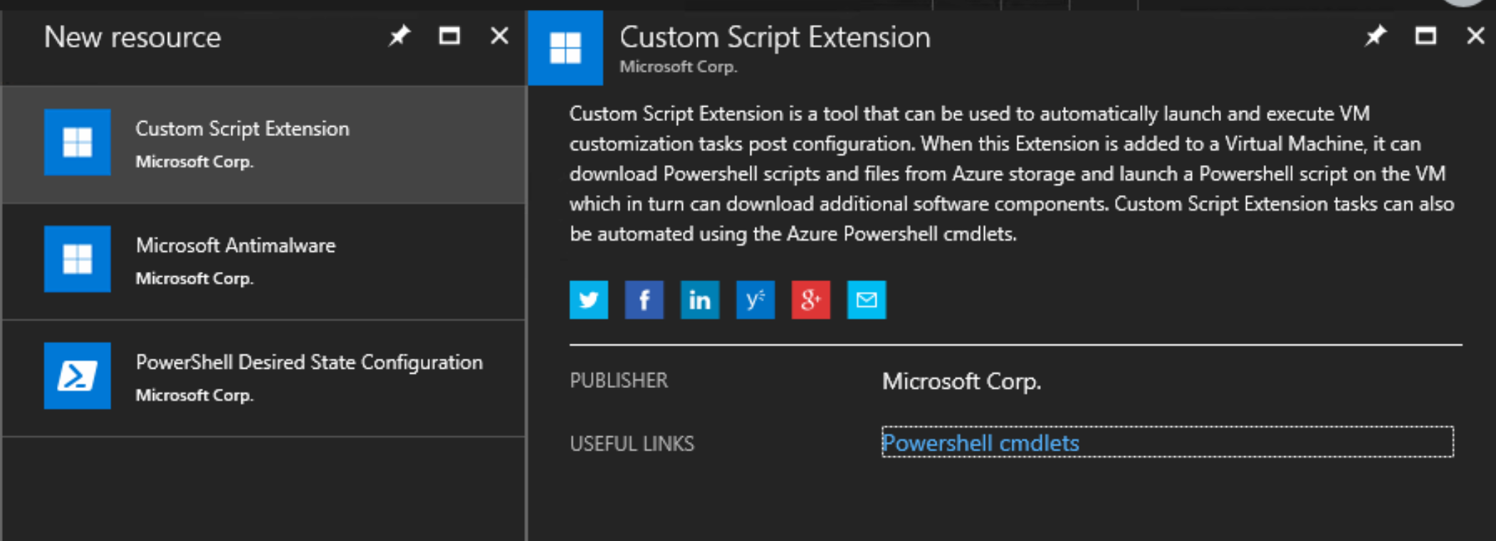 Custom Script Extension - Building Hybrid Clouds with Azure