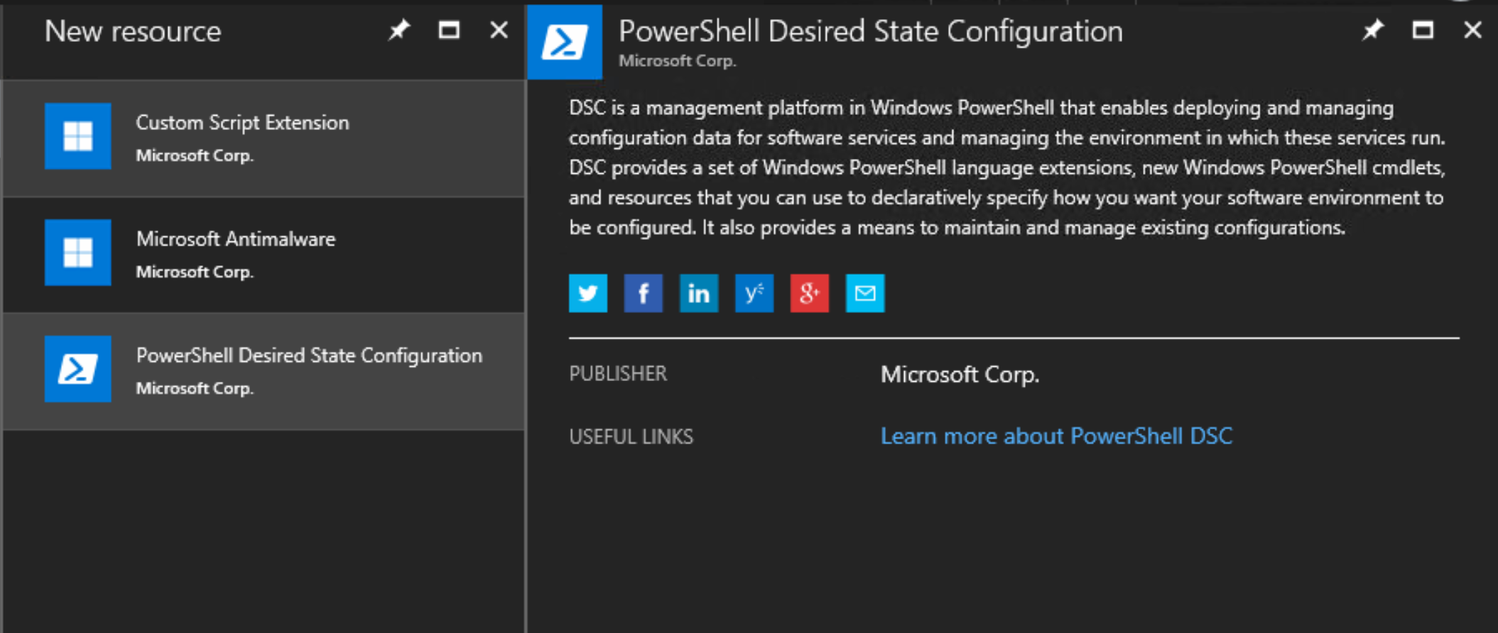 PowerShell Desired State Configuration extensions - Building
