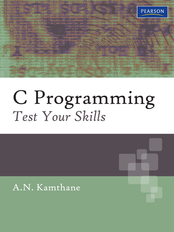 Cover image for C Programming: Test your Skills