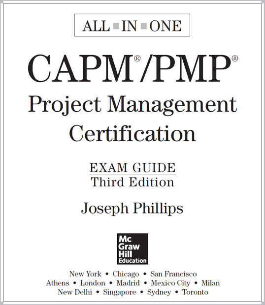 Capmpmp Project Management Certification All In One Exam Guide