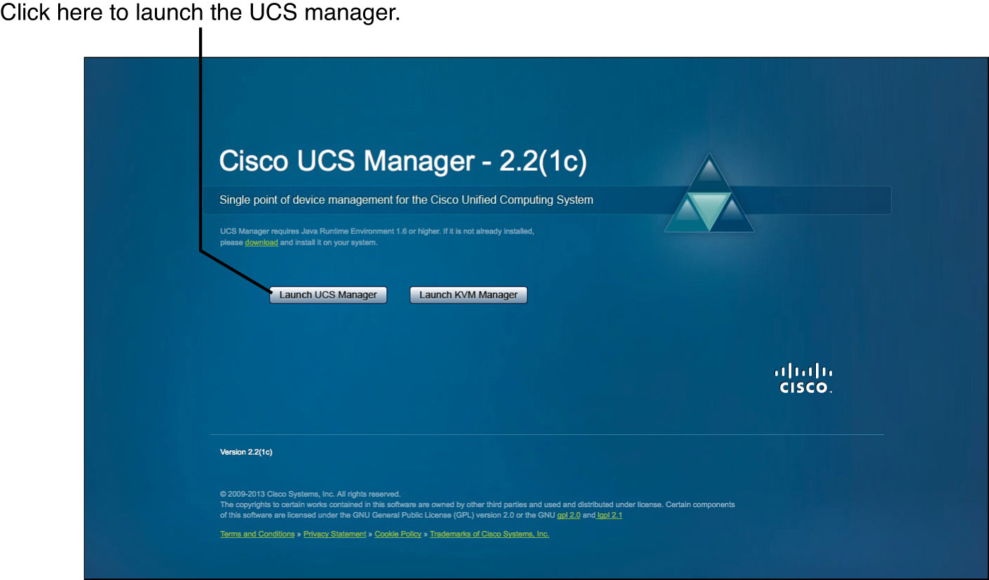 Cisco UCS Manager GUI Layout - CCNA Data Center DCICT 640-916
