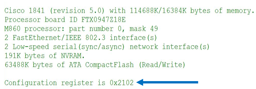 Checking the setting of your registry - CCNA Routing and