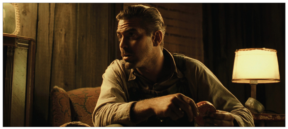 This shot from O Brother Where Art Thou? demonstrates the importance of lighting from the upstage side (his key from the left) and motivated lightingu2014the ... & Lighting Basics - Cinematography: Theory and Practice 3rd Edition ... azcodes.com