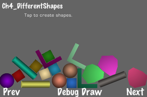 Using different shapes