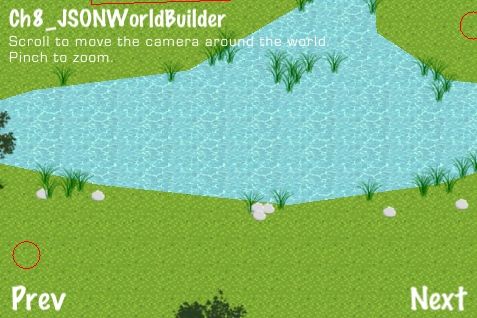 Creating levels using JSONWorldBuilder