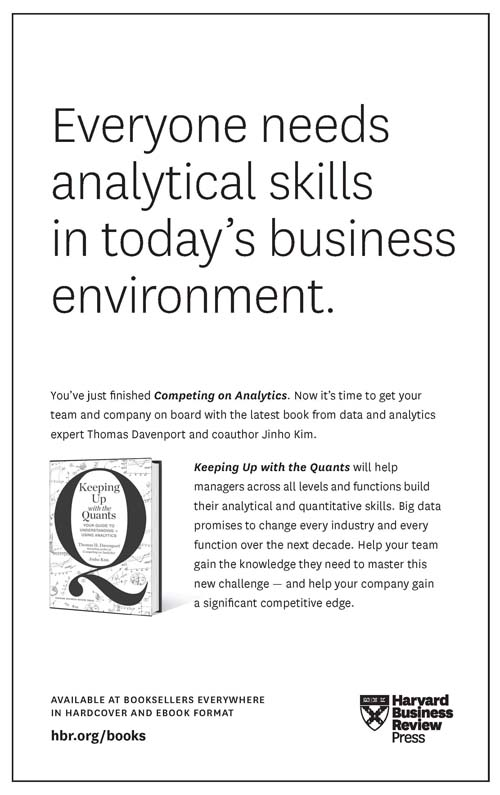Ebook of new competing winning on analytics the science