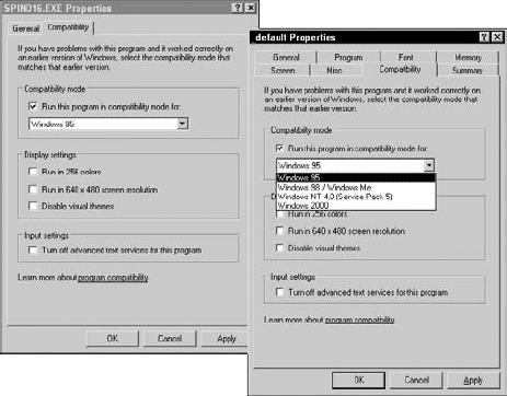 Windows Compatibility Modes - CompTIA A+® Certification All
