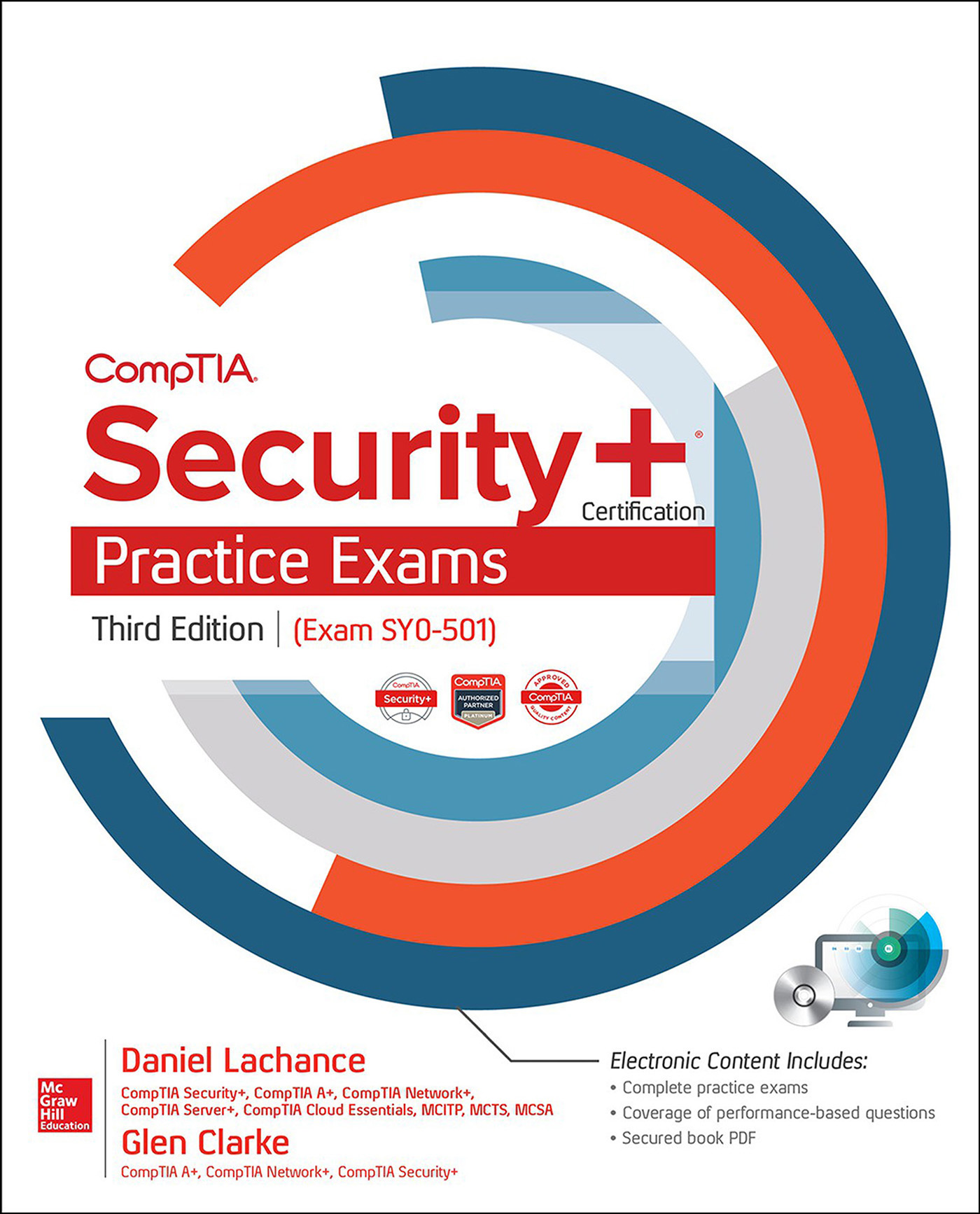 Cover Page Comptia Security Certification Practice Exams Third