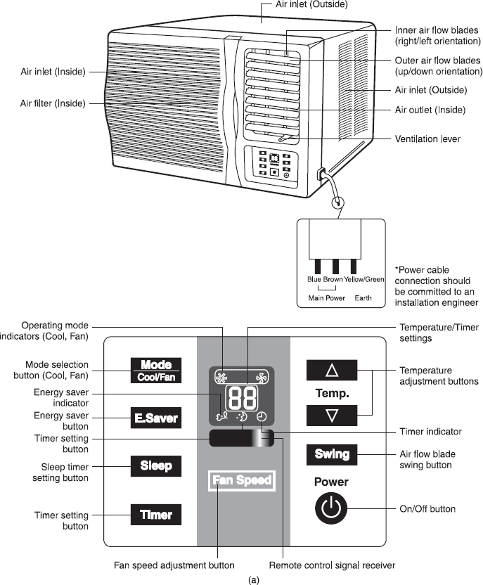 central air conditioner system diagram
