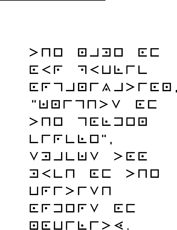 Cryptogram Example