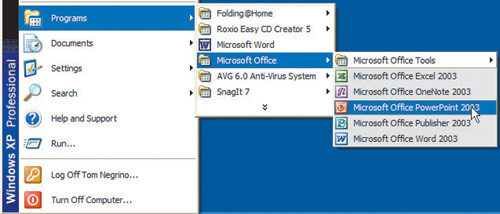 how to get to start up programs n windowsx