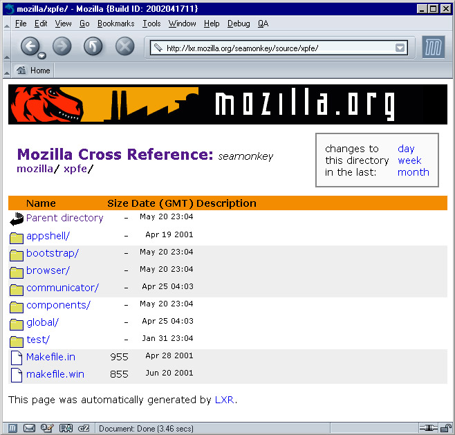 Appendix A  Getting and Building the Mozilla Source
