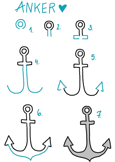 Anchor Icons Marine Tattoo Small Anchor Tattoos Anchor Icon 13