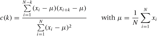 The Correlation Function