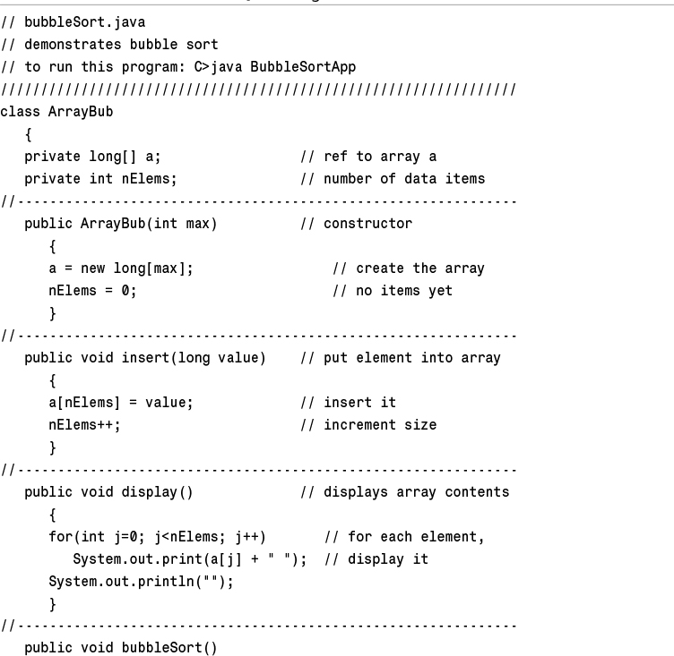 Data Structures & Algorithms in Java - Data Structures and