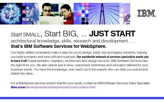 Contact an IBM Software Services Sales Specialist - DataPower SOA