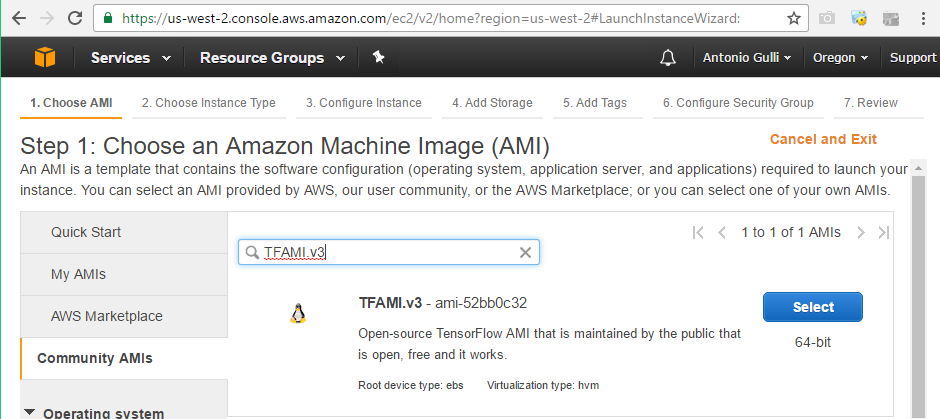Installing Keras on Amazon AWS - Deep Learning with Keras
